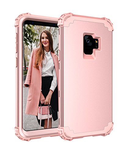 Galaxy S9 Case,CASY MALL 3-Layer Heavy Duty Hybrid Full-Body Protect Case for Samsung Galaxy S9 2018 Release
