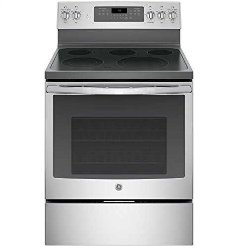 GE JB750SJSS Stainless Electric Smoothtop