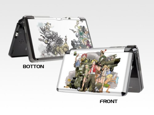 Metal Slug Nintendo 3DS skins decorative decals sticker