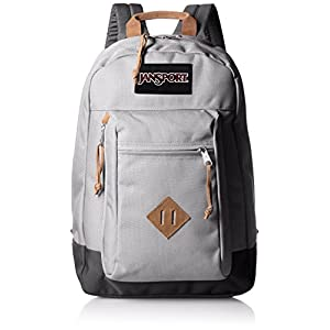 JanSport Mens Classic Specialty Reilly Backpack - Grey Rabbit / 17H X 12.5W X 5D