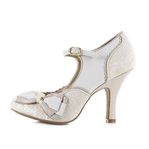 Femme Chaussures Gold Shoo Cream Metallic Ruby Maria q8xESwCgC