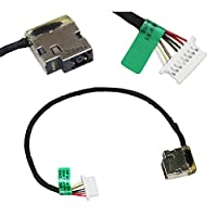 Zahara DC in Power Jack Cable Harness Socket Plug Replacement for HP 15-cw1015cl 15-cw0027ca 15-cw0000ax 15-cw0020ca 15-cw0007cy 15-cw0007ca