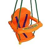Svitlife Outdoor Playground Kids Swing Seat Chai w/ Rope Rope Kids Garden Swings Best Toy