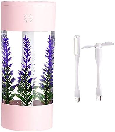 Basage 360Ml Air Humidifier Lavender Landscape Usb Car