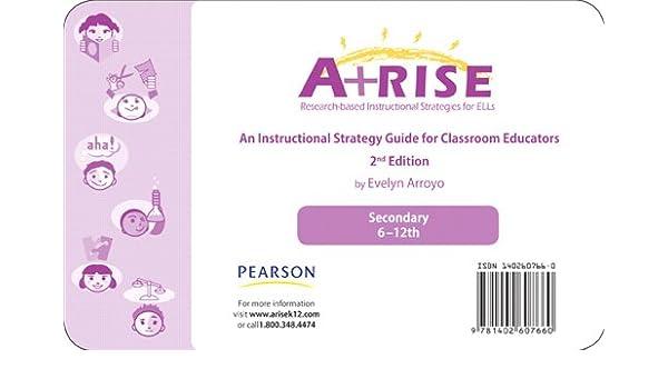Arise Instructional Strategy Card Set 6 12 Evelyn Arroyo