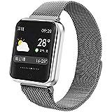 Relógio Smartwatch Smartband Android Iwo iPhone Samsung Moto P68 (Prateado)