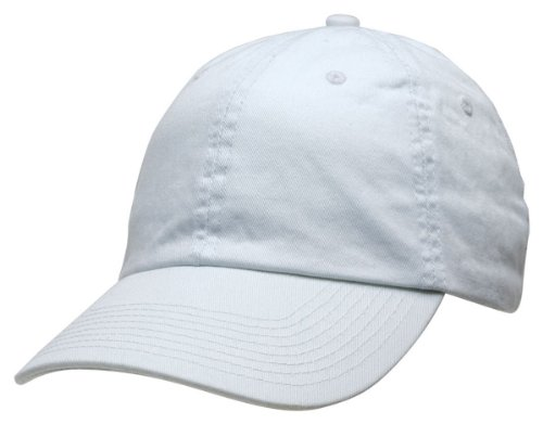 Bayside Washed Chino Twill Unconstructed Cap 3630 - White_One (Cotton Chino Twill Cap)