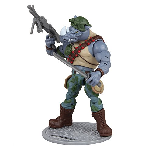 Teenage Mutant Ninja Turtles Classic Collection Rocksteady Action Figure