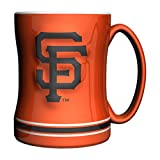 Boelter Brands MLB San Francisco Giants Sculpted Coffee Mug, 14-ounce