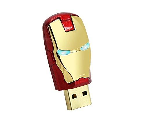Iron Man Hand USB Flash Drives Memory Storage Pendrive USB 2.0 High marvel