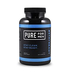 "Pure for Men is a dietary fiber supplement that promotes digestive cleanliness and personal hygiene. Put simply, it keeps your ""runway"" clear for landing and helps you avoid any embarrassing accidents during playtime. The 100% all-natural, hi..."