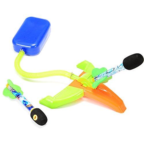 ThinkMax Stomp Rocket Kit Air Power Rocket Launch Sport Toys