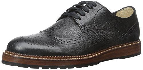 Dr. Scholls Men's Braxton Oxford - Black Leather - 8 D(M) US