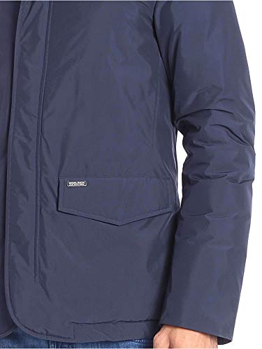 Piumino Jacket City Imbottitura Blz In Woolrich Blue Con Uomo 4F0OwO