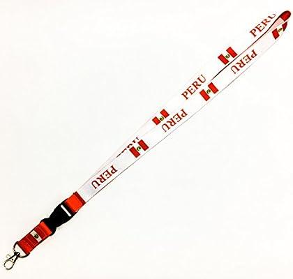 Le Triangle Bandera de país reversible cordón/llavero con llaveros ...