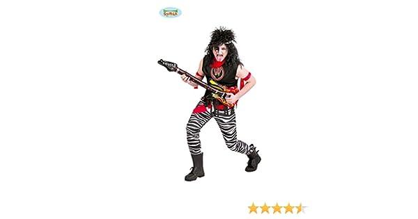 Disfraz de rockero: Amazon.es: Juguetes y juegos