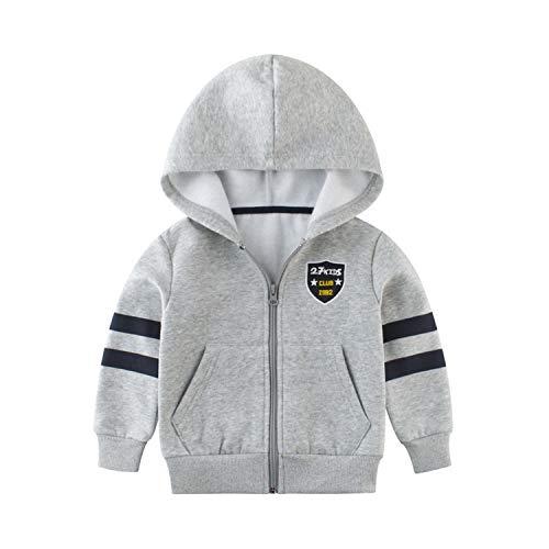 Jacket Newmarket (Toddler Baby Boys Jacket Kids Spring Casual Children Long Sleeve Hooded Coats Enfant)