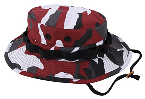 Rothco Boonie Hat, Red Camo - (7 1/4) Inch