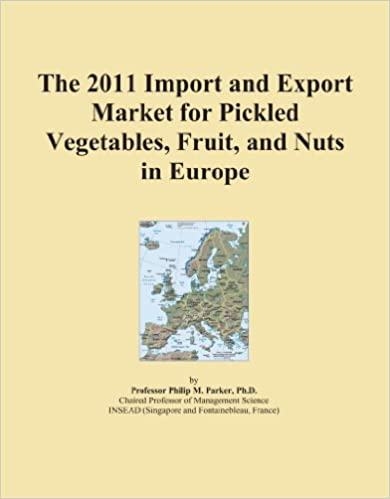 The 2011 Import and Export Market for Pickled Vegetables