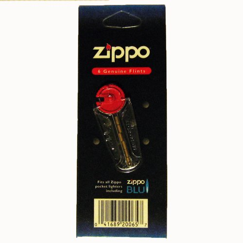 30 Zippo® Flints - 5 Packs, 6 Flints in Each