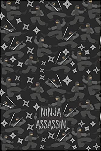 Ninja Assassin: A Cool Ninja Karate Lovers Practice Writing ...
