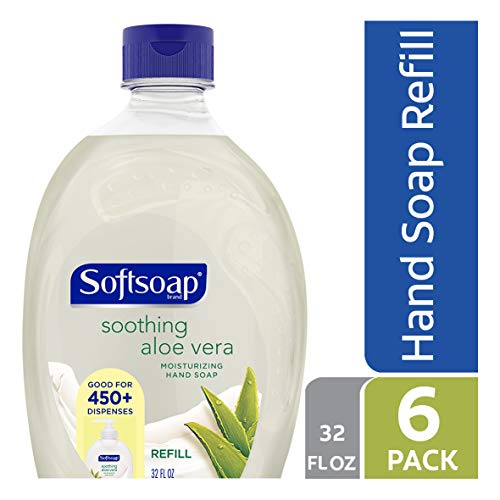 Softsoap Liquid Hand Soap Refill, Soothing Aloe Vera - 32 fluid ounces (6 ()