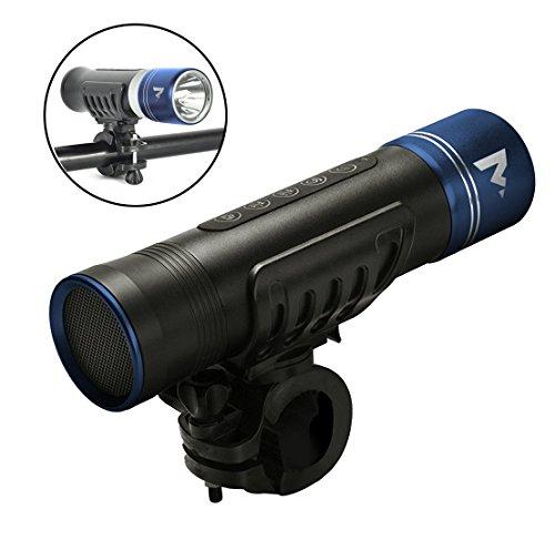 Mvmt Bike Flashlight With Built In Bluetooth Speaker For