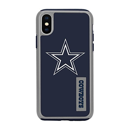 "Forever Collectibles iPhone XS/X 5.8"" Screen Only Dual Hybrid Impact Licensed Case - NFL Dallas Cowboys from Forever Collectibles"