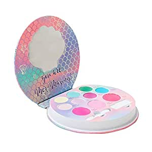 Magnetic eyeshadows palette birthday present Little Mermaid