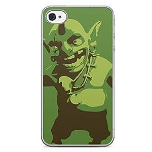 Clash of Clans iPhone 4/4s Transparent Edge Case - Goblin