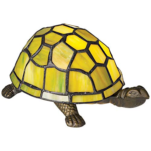 Green Tortoise Tiffany Style Accent Lamp - Robert Louis Tiffany
