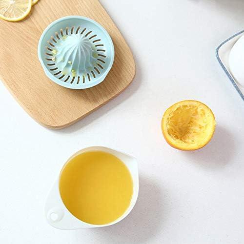 ZHONGYU Exprimidor portátil de cítricos de naranja y limón ...