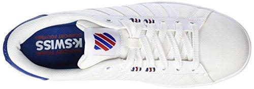 K-swiss Mens Hoke T Cmf Mode Sneaker Blanc / Limoges / Piment