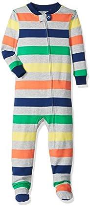 Amazon Essentials Unisex-Baby Zip-Front Footed Sleeper