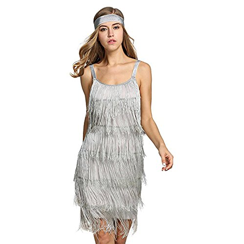 Used, Palove 20's Great Gatsby Style Beaded Vintage Halloween for sale  Delivered anywhere in USA