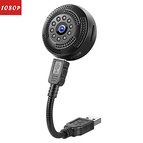 Victure Mini Spy Hidden Camera 1080P FHD Portable
