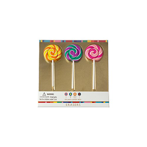 - Dylan's Candy Bar IG101012 Erasers, Whirly Pop