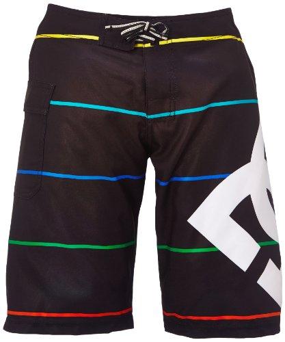 DC Apparel Big Boys' Lanai By Boardshort, Black Stripe, 24 ()