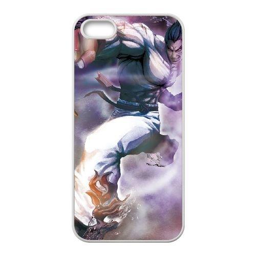 Street Fighter X Tekken 23 coque iPhone 5 5s cellulaire cas coque de téléphone cas blanche couverture de téléphone portable EEECBCAAN03713