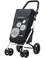 BEST 4 Wheel Grocery Shopping Cart folding Trolley CARLETT #LETT440