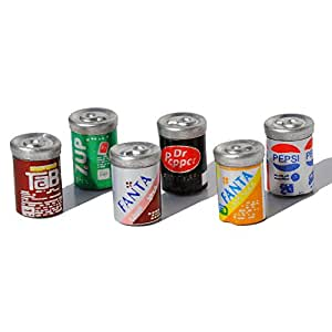 Soda Cans for Miniature Garden, Fairy Garden