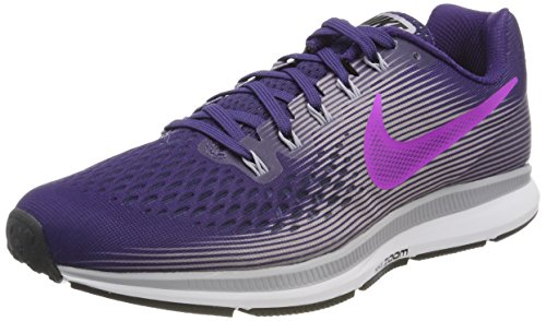 NIKE Women's Air Zoom Pegasus 34 Running Shoe Purple (10)