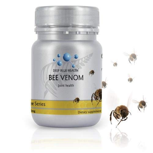 New Zealand Bee Venom with Glucosamine Sulphate - 500mg x 30 Capsules
