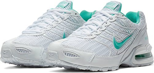 Torch Air Nike (NIKE Women's WMNS Air Max Torch 4, White/Hyper Turquoise, 11 M US)