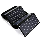CLAYMORE 26W 16V Solar Panel Charger Portable Foldable with Dual Output (5V/2A USB 16V/5A DC), Camping Travel Emergency Charger, for Smartphones, Laptops, Power Source