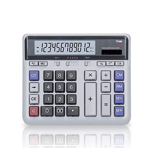 Calculator 12-bit Multifunction Office Financial Accounting