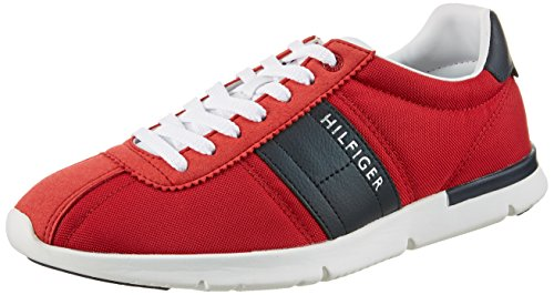 Top 9c Tommy Hilfiger Herren 611 Tango Red T2285obias Low Rot rFtXtqw