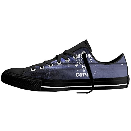 Dabbing Cupid Low-Cut Canvas Shoes Unisex Sneaker-All Season Casual Trainers For Men And Women ColourName (Costume National Shoes Online)