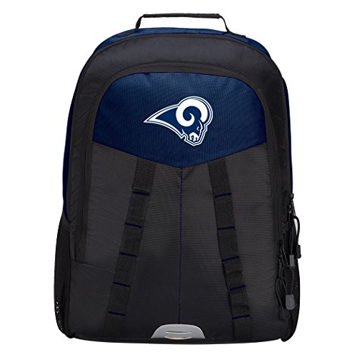 Officially Licensed NFL Los Angeles Rams Scorcher Sports Backpack, Blue