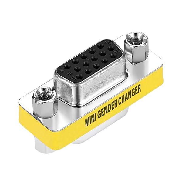 Adattatore per trasformatore di Genere a Pin Femmina VGA HD15 da Donna a Femmina di Design Professionale Disponibile… 1 spesavip